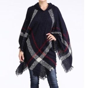 Sweaters - Hooded Cape